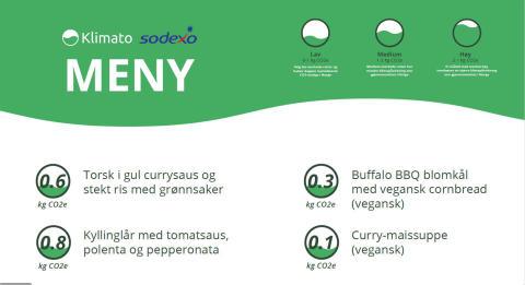 Først i Norge med å klimaberegne menyen