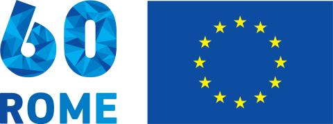 Logo marking 60 years since the Treaty of Rome