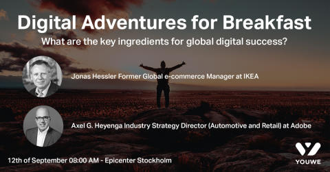 Digital Adventures for Breakfast - Join us for an inspirational morning at Epicenter on September 12th