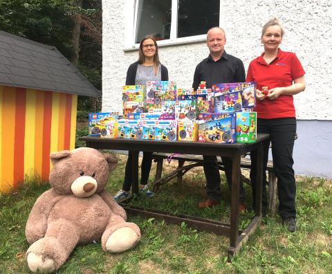 Lego-Bausteine für die Bärenherz-Kinder