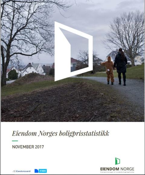 Svak boligprisutvikling i november