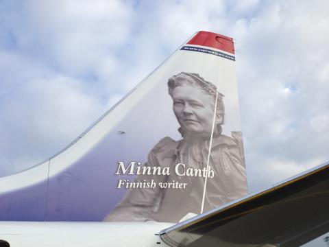 Norwegianin pyrstösankari: Minna Canth