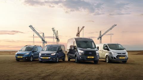 Fords varebiler slår alle salgsrekorder - Transit er Danmarks suverænt mest solgte varebil