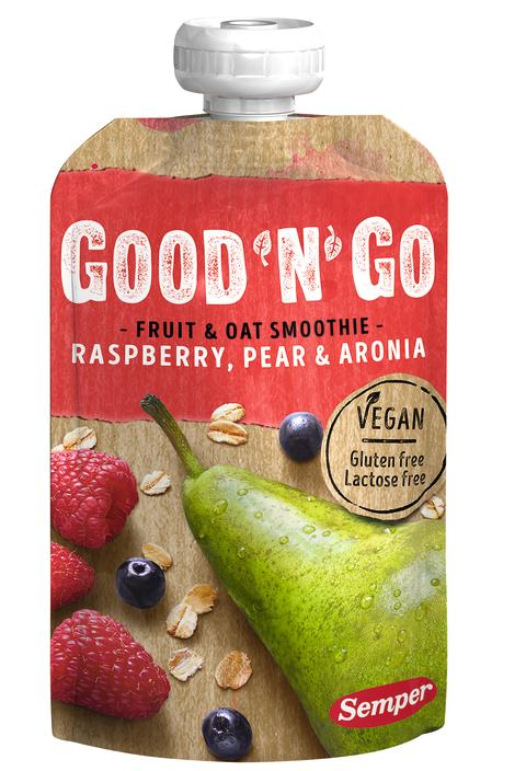 Good'n'Go Fruit & Oat Smoothie - Raspberry _1705x2500px_E_NR-12797
