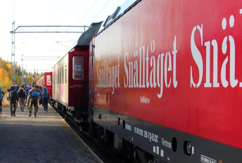 Ljungdalen, Ramundberget och Vemdalen nya destinationer när Snälltåget fortsätter satsa på fjällvandring