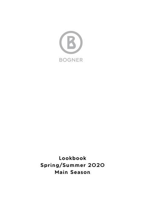 Bogner Lookbook Summer2020
