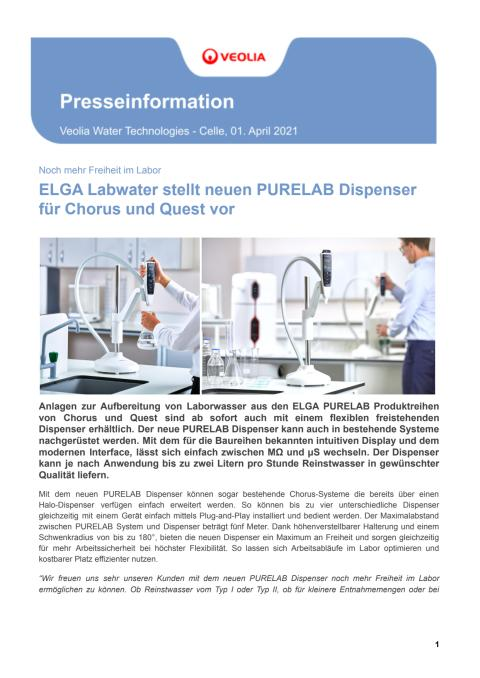 58018_PM_ELGA stellt neuen Purelab Dispenser für die Choruslinie und Quest vor.pdf