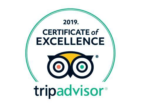 Stenungsbaden tilldelas TripAdvisor® Certificate of Excellence 2019.