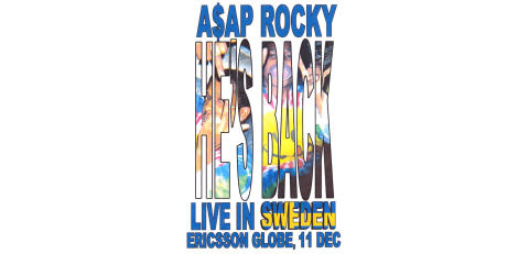 A$AP ROCKY TILL SVERIGE!