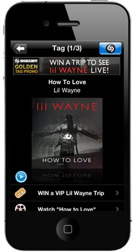 """Shazam, VEVO and """"The Best Rapper Alive"""" Lil Wayne Launch First Music Video Incorporating Shazam for TV"""