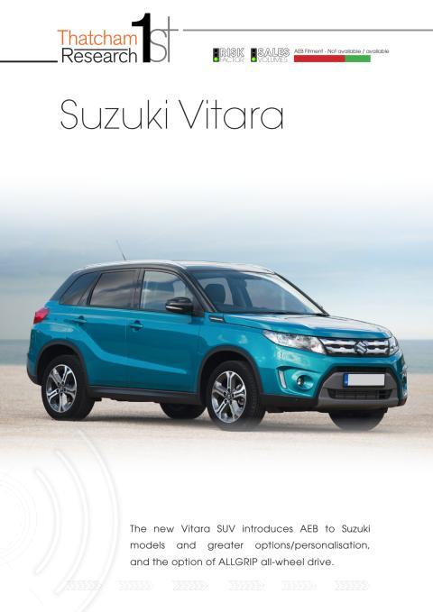 Thatcham 1st : Suzuki Vitara
