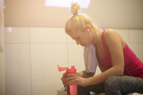 1 av 5 svenskar: jag har en osund relation till träning
