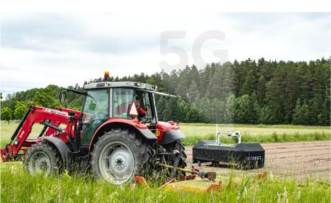 Telia och Ekobot i 5G-samarbete kring autonom robot för hållbart jordbruk