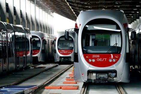 Hitachi Rail Italy Consegna L'ultimo Tram Della Linea 2