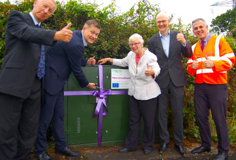 Fast broadband available to 90,000 premises as Connecting Cheshire completes latest phase