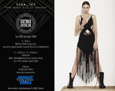 BENU BERLIN - Berlin Fashion Week Januar 2014