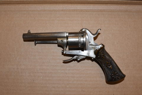 Recovered firearm - Santos