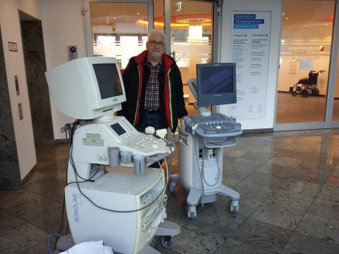 Gerätespende für das Lubaga Hospital