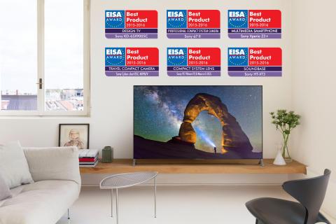 Sony feiert sechs Auszeichnungen bei den EISA Awards 2015