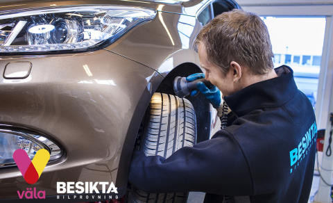 Besikta Bilprovning Väla