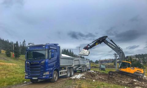 Kvitfjell gir bort snø til X Games Oslo i Telenor Arena