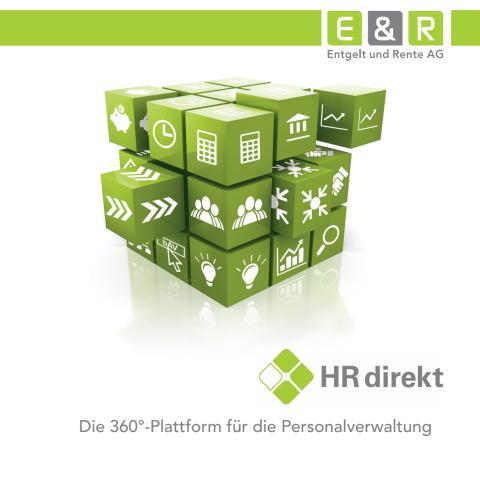 HR direkt - Die 360°-Plattform für die Personalverwaltung