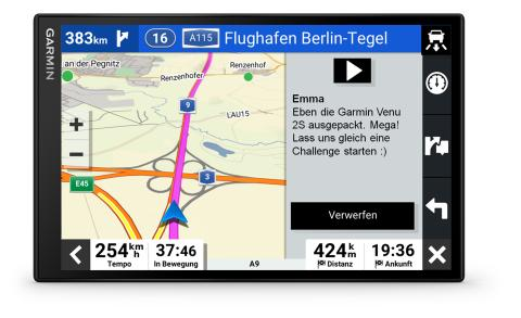 Garmin DriveSmart 86 Smart Notifications