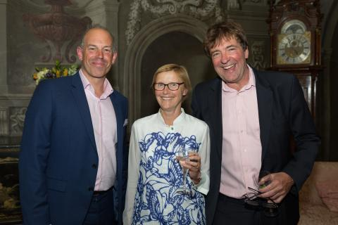 """Charity reception """"massive honour"""" for Location star"""