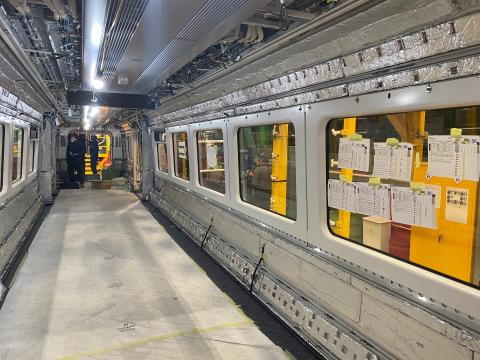 London Northwestern Railway - Class 730 Interior - Bombardier production line
