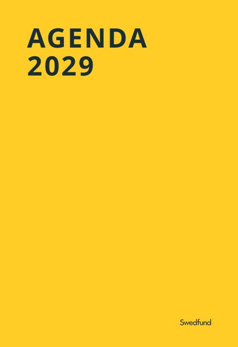 Swedfunds Integrerade redovisning 2016, Agenda 2029