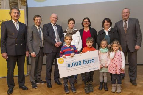 Bürgerenergiepreis Oberpfalz 2014 - 2. Preisträger – Städtische Kindertagesstätte Oberisling
