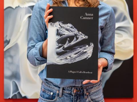 Inbjudan till pressfrukost och release av Anna Camners utställningskatalog