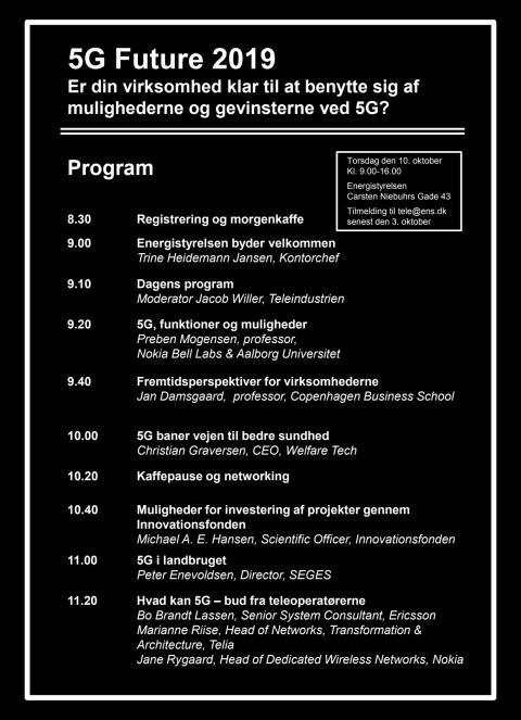 Program 5G Future 2019