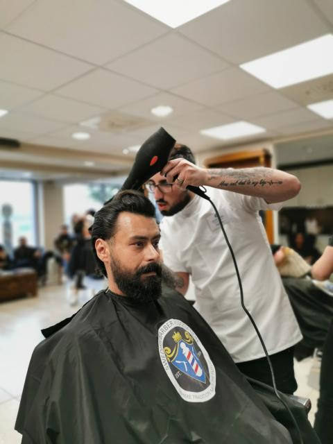 Parham Rezaie, Salong Randevu Barbershop, Göteborg