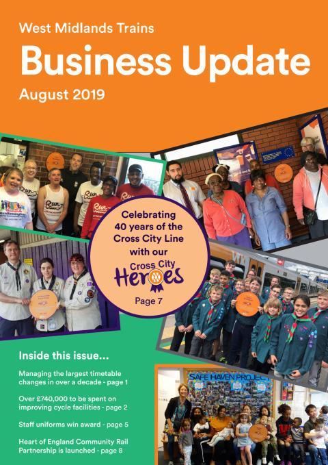 West Midlands Trains Business Update - August 2019