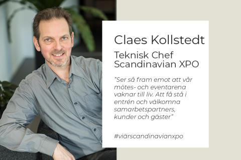 Intervju med Claes Kollstedt, Teknisk Chef, Scandinavian XPO