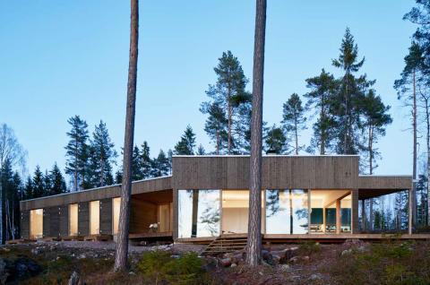 Dalarnas Villa är färdig för  inflyttning till hösten 2019