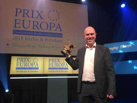 SVT Språkplay vann Prix Europa 2018