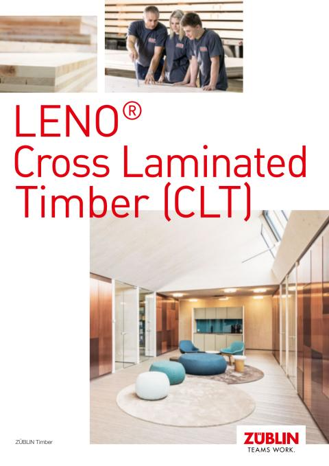 ZÜBLIN Timber: LENO® Cross Laminated Timber (CLT)
