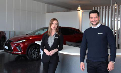 Lexus Bodø jubler etter å ha gått til topps i kundekåring