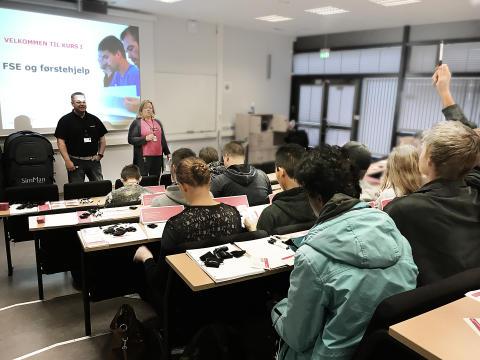 Stavanger-elever fikk ekstra sikkerhetskurs før eksamen