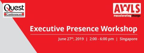 Asian Women Leadership Summit - Executive Presence Workshop