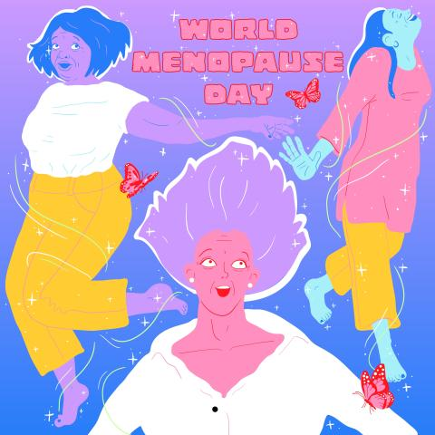 EXPERT COMMENT - World Menopause Day: how cultural representations of 'the change' are empowering women
