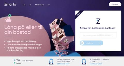 Zmarta launches a new service for mortgages