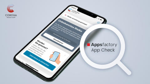 Appsfactory App Check: Analyse der Corona-Warn-App Deutschlands