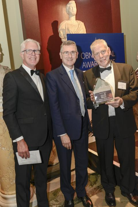 ISANSYS WINS BEST PUBLIC-PRIVATE COLLABORATION AT THIS YEAR'S OBN AWARDS