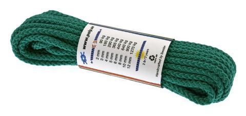 Poly-Light-8 grön, 6 mm x 10 m, bunt