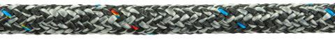 PolyRopes Poly-Braid-32 grå med svart kod