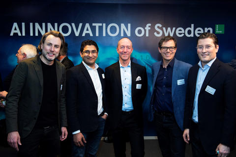 CEVT partners in newly launched AI Innovation of Sweden