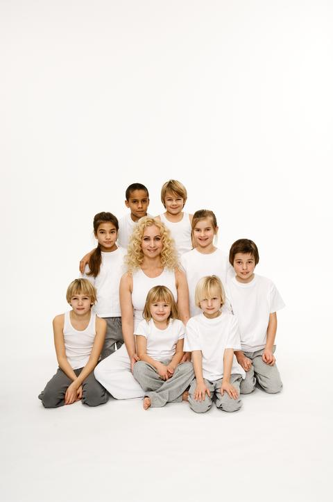 Sveriges största familjeyogapass!
